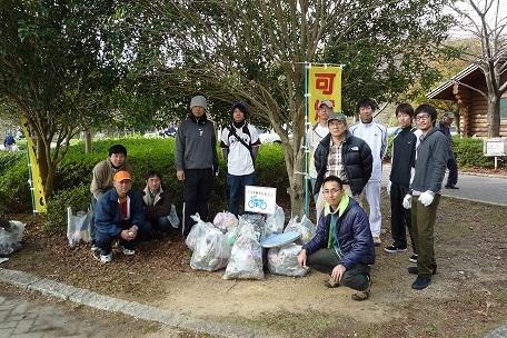 ゴミ拾いウォーキング【11/11/27】大量のゴミを拾いました