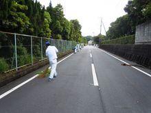 九州エフ・シー・シー 近隣地域の落ち葉回収やゴミ拾いをしました
