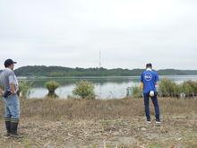 さっぱりすっきりして湖も良く見えるようになりました