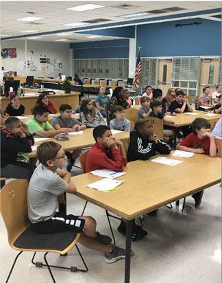 4.STEMアカデミーへの出張授業(米国North Carolina)