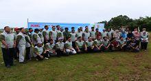 カラワン県内の公園の植樹活動に参加
