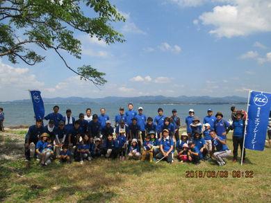 今年もチームF.C.C.で清掃活動に参加しました!暑い中おつかれさまでした!