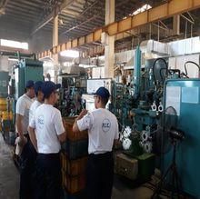 FCCフィリピン 工場内での熱心な取り組みの様子