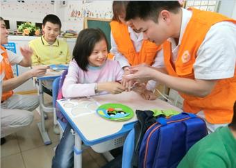 佛山富士離合器有限公司「地元小学校の障害児童への教育支援活動」