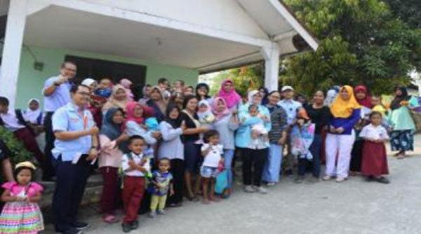 近隣村幼児への支援