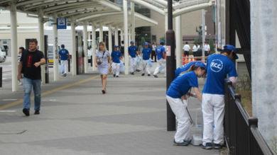白子駅周辺清掃ボランティア活動