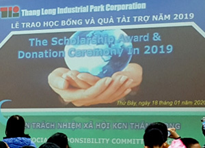 FCCベトナム/周辺小学校への奨学金寄付活動