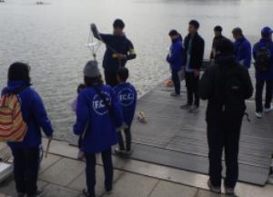 環境安全企画部/佐鳴湖水質調査「冬」参加