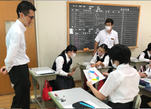 総務部/中学校でのキャリア教育